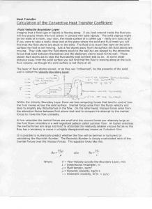 convective heat transfer notes - firefly labs