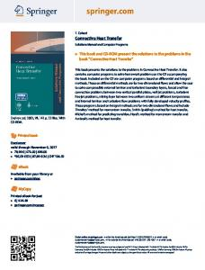 Convective Heat Transfer - Springer