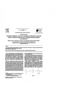 Convenient and facile cross-Aldol condensation catalyzed by