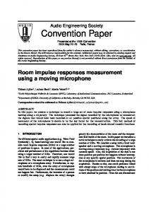 Convention Paper - Infoscience - EPFL