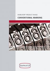 Conventional marking
