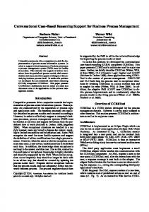 Conversational Case-Based Reasoning Support ... - Semantic Scholar