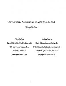 Convolutional Networks for Images, Speech, and ...