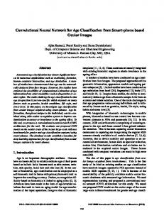 Convolutional Neural Network for Age Classification ... - IEEE Xplore