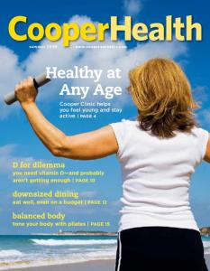Cooper Clinic helps you feel young and stay