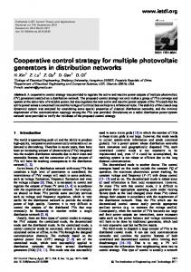 Cooperative control strategy for multiple photovoltaic ... - UCF EECS