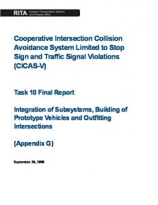 Cooperative Intersection Collision Avoidance System Limited to ...