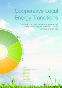 Cooperative Local Energy Transitions - EE Regionen
