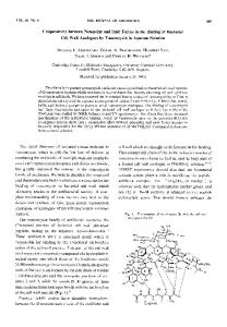 Cooperativity between Non-polar and Ionic Forces in the ... - J-Stage
