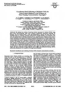 Coordinated Path Following of Multiple UAVs for ... - Semantic Scholar
