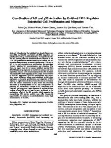 Coordination of Id1 and p53 Activation by Oxidized ... - Springer Link