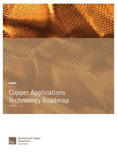 Copper Applications Technology Roadmap - Copper Alliance