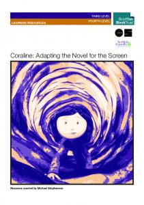 Coraline: Adapting the Novel for the Screen