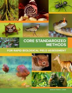 Core Standardized Methods for Rapid ... - Conservation International