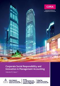 Corporate Social Responsibility and Innovation in ...