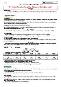 Correction TP chimie 3