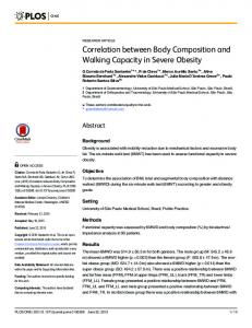 Correlation between Body Composition and ... - Semantic Scholar