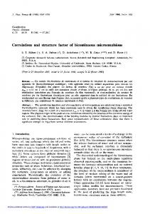 Correlations and structure factor of bicontinuous microemulsions