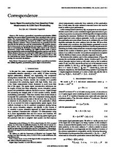 Correspondence - Iowa State University Electrical and Computer ...