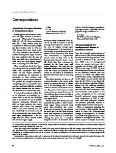 Correspondence - Wiley Online Library