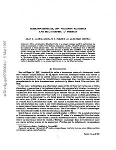 Correspondences, von Neumann algebras and holomorphic L^ 2 torsion