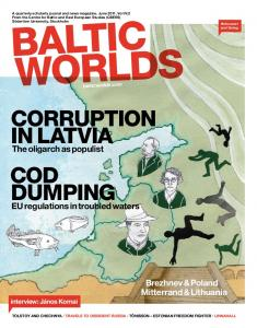 corruption in latvia cod dumping - Baltic Worlds