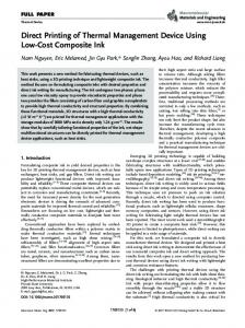 Cost Composite Ink - Wiley Online Library