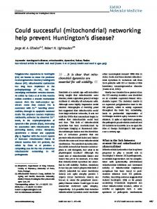 Could successful (mitochondrial) networking ... - Wiley Online Library