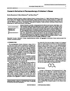 Coumarin Derivatives in Pharmacotherapy of ...