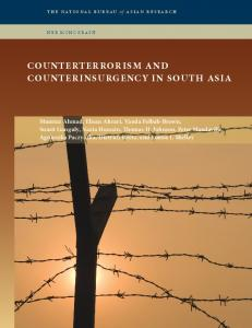 counterterrorism and counterinsurgency in south asia