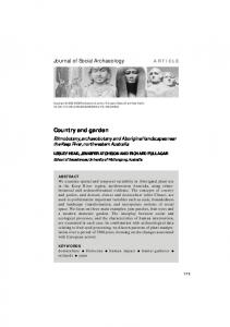 Country and garden - SAGE Journals - Sage Publications