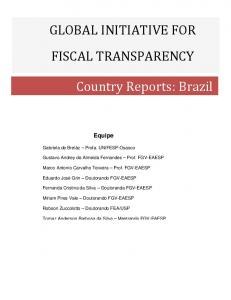 Country Reports: Brazil