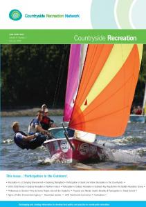 Countryside Recreation - Outdoor Recreation Network
