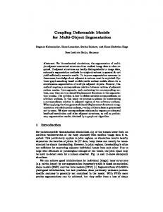 Coupling Deformable Models for Multi-Object ... - Zuse Institute Berlin