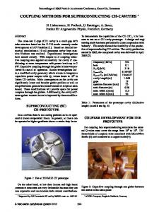 Coupling Methods for Superconducting CH-Cavities