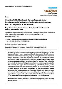 Coupling Noble Metals and Carbon Supports in