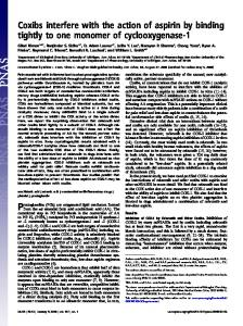 Coxibs interfere with the action of aspirin by ... - Semantic Scholar