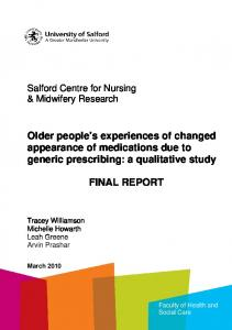 CPCT study front cover - University of Salford Institutional Repository