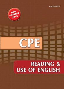 CPE Reading & Use of English - Grivas Publications
