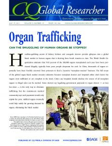 CQGR Organ Trafficking - Sage Publications