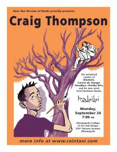 Craig Thompson - Rain Taxi