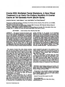 Crania with mutilated facial skeletons: A new ... - Wiley Online Library