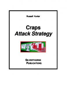 Craps Attack Strategy