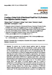 Creating a Global Grid of Distributed Fossil Fuel CO2 ... - MDPI