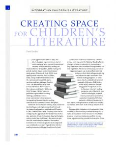Creating Space for Childrens Literature - Frank Serafini