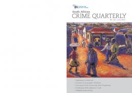 crime quarterly - ISS Africa