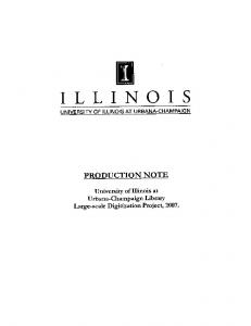 Critical Trends Assessment Project Monitoring ... - IDEALS @ Illinois