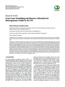 Cross-Layer Scheduling and Resource Allocation for Heterogeneous ...