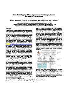 Cross-Scale Mapping of Gene Expression to Neuroimaging Datasets ...