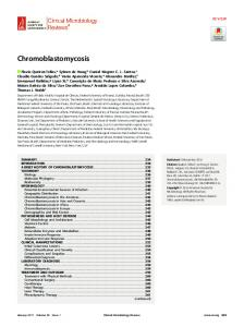 crossm - Clinical Microbiology Reviews - American Society for ...